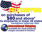 Free Shipping to the Lower 48 United States for RETAIL ONLY!